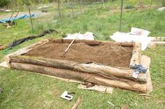 Learn, step by step, how to build a raised bed to grow plants in. Grow strawberries, tomatoes, or any vegetable in a raised bed.