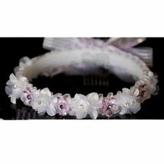 Angels Garment Girls White Purple Flower Ribbon Wreath First Communion ** Continue to the product at the image link. (This is an affiliate link) First Communion, Styling Tools, Purple Flowers, Hair Care, Ribbon, Hair Accessories, Wedding Rings, Wreaths, Engagement Rings
