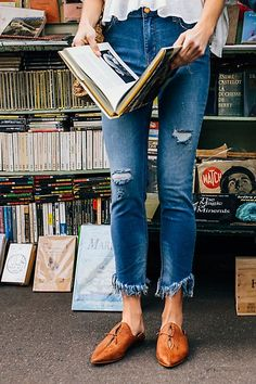 Great Heights Frayed Skinnies | Free People