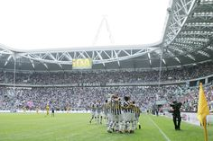 Juventus Stadium, Turin, Italy. home of the current champions of the Italian Serie A.