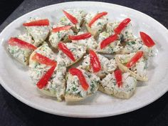 Crab Salad Canapes - by Bruce's Fabulous Foods, Chef Bruce Brown