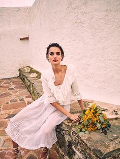 Duchess Dior: Blanca Padilla for Vogue Spain Novias S/S 2017