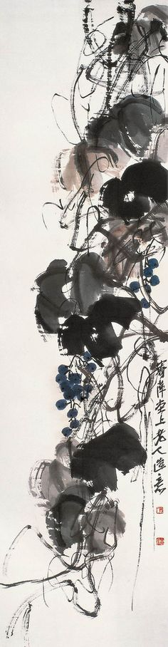 There is not a Chinese artist today who doesn't find inspiration in the sweeping strokes of Qi Baishi.    ladfish.com