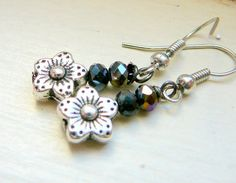 gifts for her under 2000 dainty earrings stocking by JewelrybyJMS, $17.00