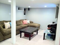 basement redo...great renovation  blog!