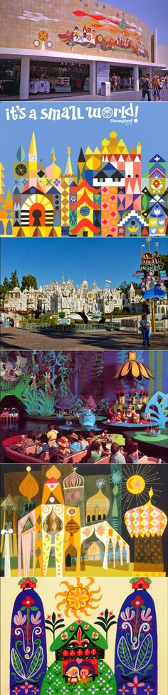 Mary Blair for Disneyland's It's a Small World After All