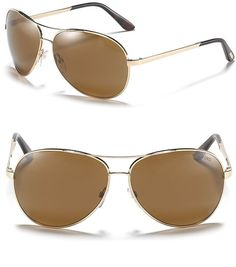 9b4261254e5 Tom Ford Charles Polarized Sunglasses in Gold (shiny rose gold) - Lyst  Summer Sunglasses