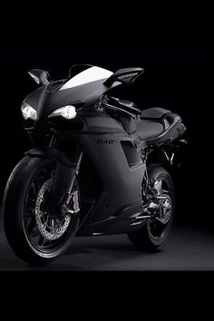 Ducati 848evo. Blacked out. My next bike but white.