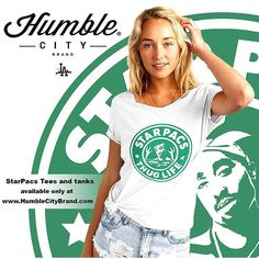 Turn heads at your local coffee shop with this Humble City exclusive. Mens tees also available. (Tap pic to purchase). #tupac#starbucks#coffee#thuglife#miami#texas#houston#nyc#oakland#sanfrancisco#atl#chicago#florida#arizona#newyork#newmexico#portland#seattle#streetfashion#hiphop#tshirts#philly#neworleans#thuglife