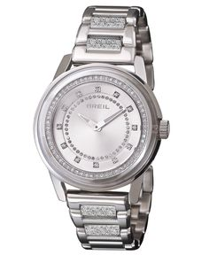 Breil Watch, Women's Orchestra Stainless Steel and Crystal Bracelet TW1008