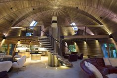 The Dome Home - офис дизайнера Timothy Oulton.