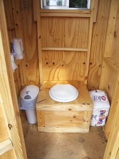 Outhouse was the clear fibreglass roof we installed it made for We built our privy with consider to the Ontario Building Code. -- Be sure to check out this helpful article. Outside Toilet, Outdoor Toilet, Woodworking Furniture, Woodworking Plans, Outhouse Bathroom, Outdoor Bathrooms, Outdoor Baths, Fibreglass Roof, Hunting Cabin