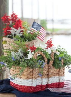 Red White and Blue | Fourth of July | Bright Bold and Beautiful