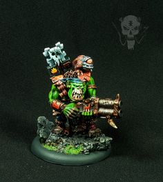 Ork Shooter with Aiming Squig #40k #wh40k #warhammer40k #40000 #wh40000…