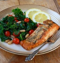 Ideal Protein Recipe | Roasted Dill Mustard Salmon | Andover Diet Center | Weight Loss