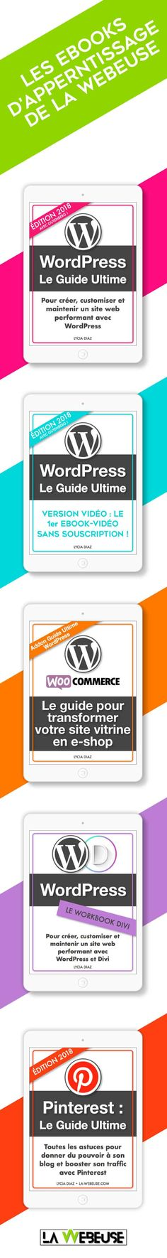 Les ebooks de La Webeuse