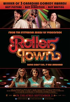 A new poster for Canadian film Roller Town