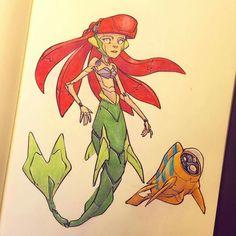 Ariel by Jake Parker