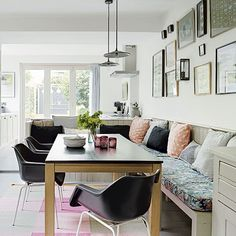 Dining area | Period house in southeast London | House tour | 25 Beautiful Homes | Housetohome.co.uk