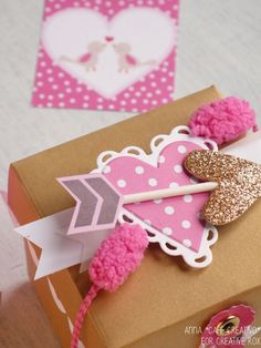 Valentine Boxes using Sizzix Big Shot Plus Starter Kit