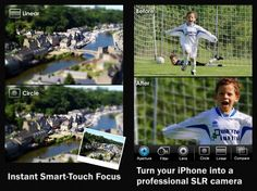 iPhone app adds SLR-like effects to pictures