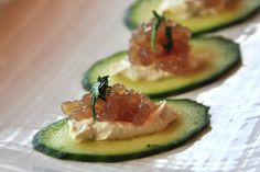 what the hell _does_ a vegan eat anyway?: Cucumber, Cashew Cheese, Caviar