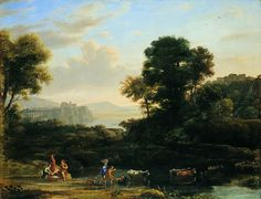 Exquisite Pastoral Landscape Oil Paintings