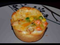 Freezer Cooking - Muffin Pot Pies (Chicken) with Biscuit Dough