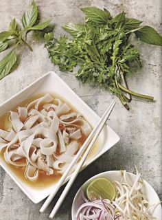 Easy Chicken Pho from  'Itsu: The Cookbook,' by Julian Metcalfe