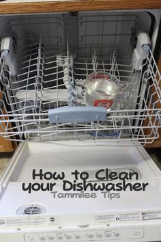 14 Clever Deep Cleaning Tips & Tricks Every Clean Freak Needs To Know Cleaning Your Dishwasher, Household Cleaning Tips, Deep Cleaning, Spring Cleaning, Cleaning Hacks, Cleaning Supplies, Cleaning Schedules, Household Chores, Kitchen Cleaning