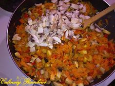 Culinary Rainbows: Sarmale cu păsat și ciuperci