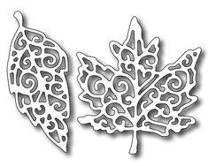 Frantic Stamper - Precision Dies - Fancy Leaves