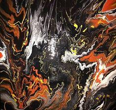 moskvaart / Pandorina skrinka - 50 x 50 cm - akryl Painting, Art, Art Background, Painting Art, Paintings, Kunst, Drawings, Art Education