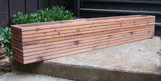 Image result for outdoor deck planter