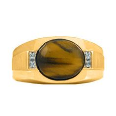 Men's Yellow Gold Tiger's Eye and Diamond Ring Christmas 2014 Holiday Jewelry Deals and Sales At Gemologica.com. Xmas Gift guide, Gift Ideas For Him, Gift Ideas For Her, Gift Ideas For Kids. Give the Gift of Fine Jewelry From the Gemologica.com Online Jewelry Store. Unique Gifts, Personalized Gifts, Gift Finder For Men, Women, Children @ GEMOLOGICA.COM