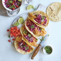 Crispy Tilapia Tacos | MyRecipes.com