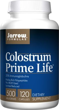 For people with weak immune systems, or would like a nice boost:  Jarrow Formulas Colostrum Prime Life, 500mg, 120 Capsules Jarrow http://www.amazon.com/dp/B0013OVTT8/ref=cm_sw_r_pi_dp_5IwWub0N8Z0P4