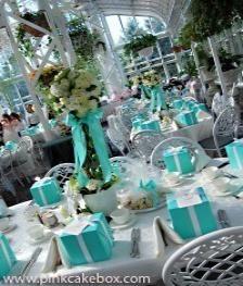 Tiffany's Themed Wedding..LOVE!!