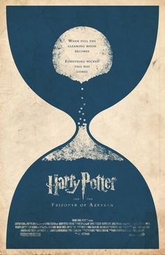 Harry Potter and the Prisoner of Azkaban Movie Poster by adamrabalais on etsy