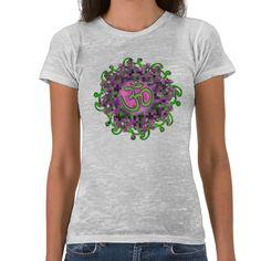 Om Namaste burnout T-shirt