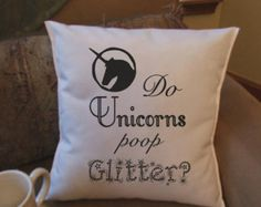 Unicorn Clothes, Unicorn Outfit, Objects, Throw Pillows, Cushions, Decorative Pillows, Decor Pillows