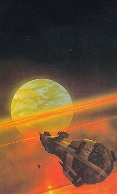 Chris Foss- Galctic Patrol cover