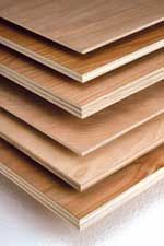 PureBond Plywood - cost-competitive decorative hardwood plywood without the formaldehyde. Next project around the house that requires wood look into this. There are 4 distributors in Memphis & may be @ home depot. http://columbiaforestproducts.com/PureBond