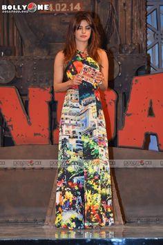 Priyanka Chopra, Ranveer Singh and Arjun Kapoor at Gunday Music Launch