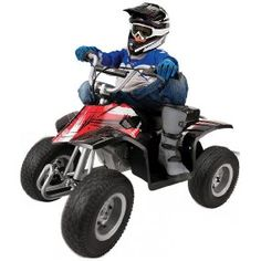 Razor Electric Dirt Quad This quad requires two batteries (included). Quad ride-on is available in: black and pink. Black dirt bike features high-torque motor and gearing. Electric 4 Wheeler, Mobiles, Kids Atv, Kids Scooter, 54 Kg, Off Road Adventure, Quad Bike, Four Wheelers, Power Cars