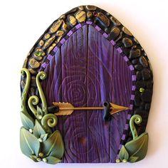 sandylandya@outlook.es Elf Bolt Fairy Door Pixie Portal by Claybykim on Etsy