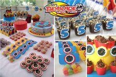 A paixão deste aniversariante de cinco anos é um brinquedo chamado Beyblade. Por isso, para atender o Alexandre, precisamos inovar criando ...