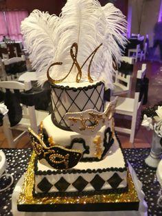 Torta 15 Carnaval Veneciano