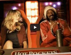 Weird Hot Pockets commercial starring Kate Upton and Snoop Dogg