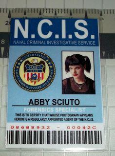 Abby Sciuto NCIS ID Badge